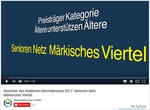 Screenshot des Startbildes bei Youtube.